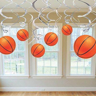 Спираль 46 - 60 см Баскетбол 12 штук