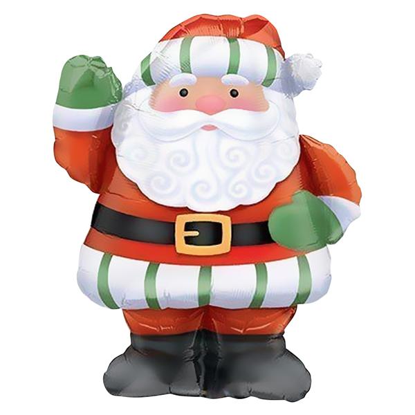 Шар 94 см Фигура Санта с большой бородой