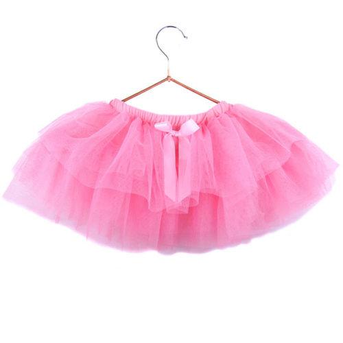 Юбка-пачка для малышей 25 см розовая
