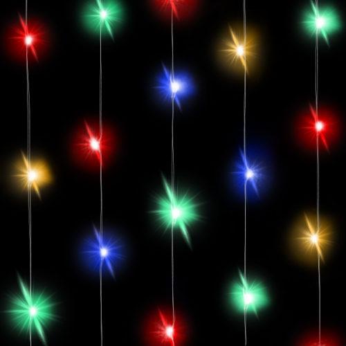 Светодиодная нить Разноцветного свечения 3 м 30 Led