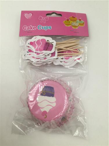 Набор для выпекания кексов Капкейк на 24 штуки
