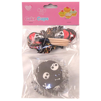 Набор для выпекания кексов Пират на 24 штуки