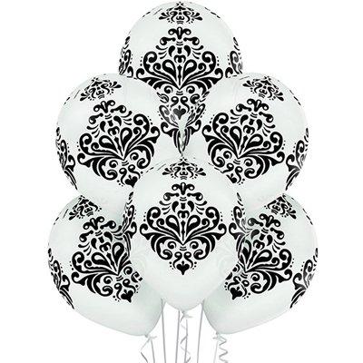 Связка из 6 шаров Дамаск