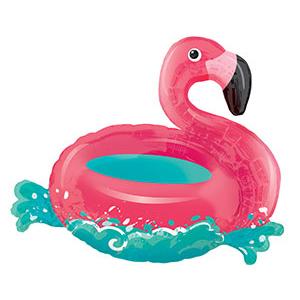 Шар 76 см Фигура Фламинго на воде