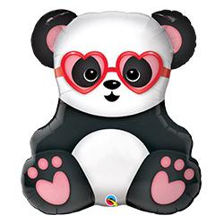 Шар 81 см Фигура Панда влюбленная