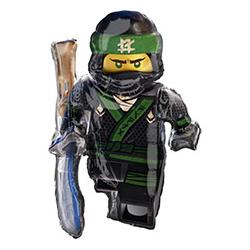 Шар 88 см Фигура Лего Ниндзяго