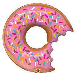Шар 92 см Фигура Пончик Донат надкусанный