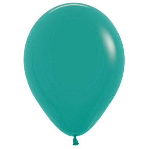 Шар 30 см пастель Зеленая бирюза 036