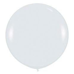 Шар 90 см Белый 005 пастель