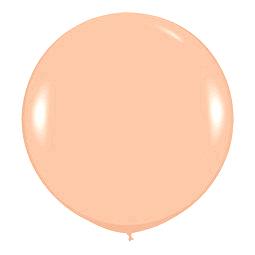 Шар 90 см Оранжевый 060 пастель