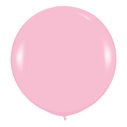 Шар 90 см Розовый 009 пастель