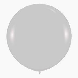 Шар 90 см Серебро 481 Перламутр