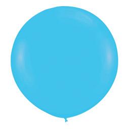 Шар 90 см Синяя бирюза 038 пастель