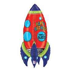 Шар 91 см Фигура Ракета