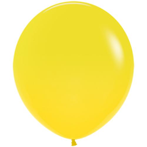 Шар 46 см Желтый Пастель