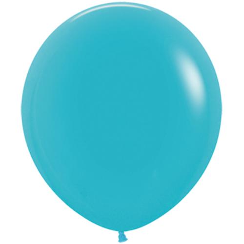 Шар 46 см Синяя бирюза Пастель