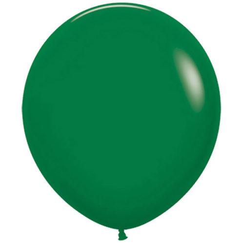 Шар 46 см Темно-зеленый Пастель