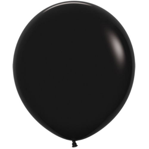Шар 46 см Черный Пастель