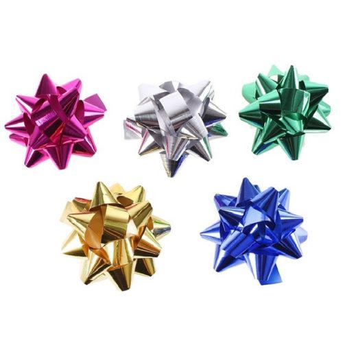 Бант Звезда Ассорти 5 см Цвет на выбор