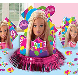 Декор - комплект на стол Барби 23 штуки