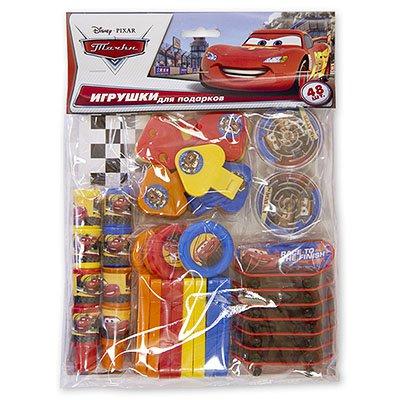 Игрушки для подарков Disney Тачки 48 штук