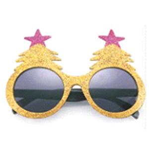 Очки Елочки золотые