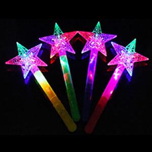 Палочка волшебная светящаяся Звезда 1 штука