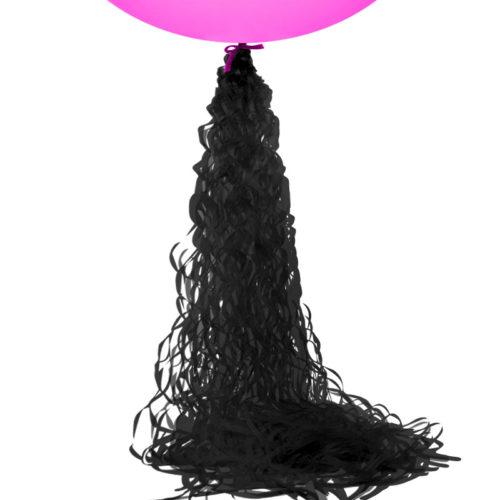 Подвеска бумажная Спираль 1 м Черный 1 шт