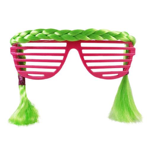 Прикольные очки с Косичками