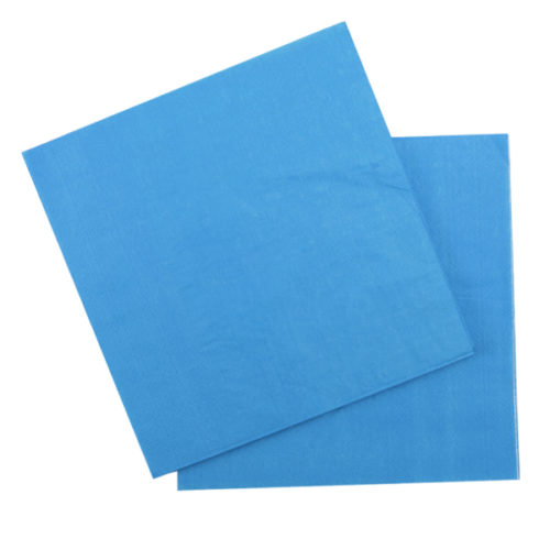 Салфетки 33 Х 33 см Blue Голубой 12 штук