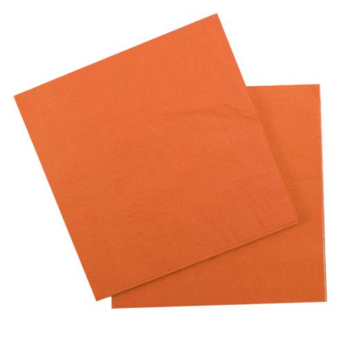 Салфетки 33 Х 33 см Orange Оранжевый 12 штук