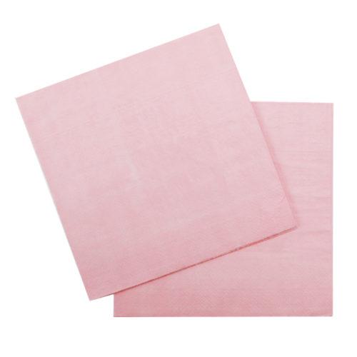 Салфетки 33 Х 33 см Pink Розовый 12 штук