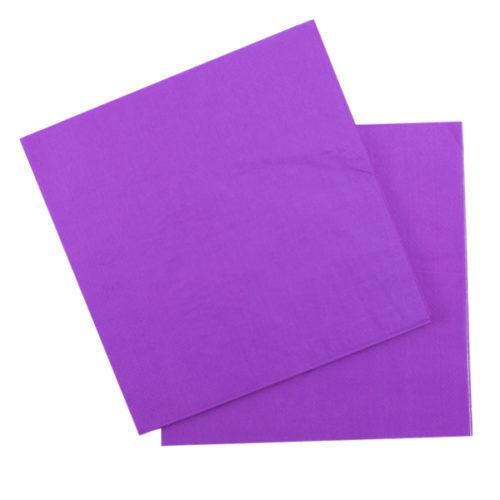 Салфетки 33 Х 33 см Purple Фиолетовый 12 штук