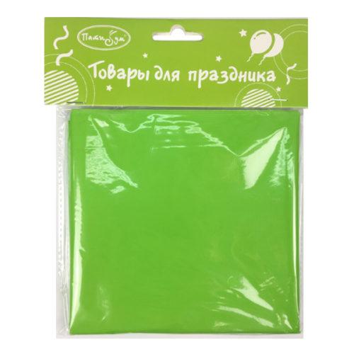 Скатерть полиэтиленовая Green Зеленый 121 см X 183 см