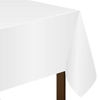 Скатерть п-э 240 х 275 см белая Frosty White 1 штука