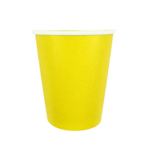 Стаканы 250 мл Yellow Желтый 6 штук