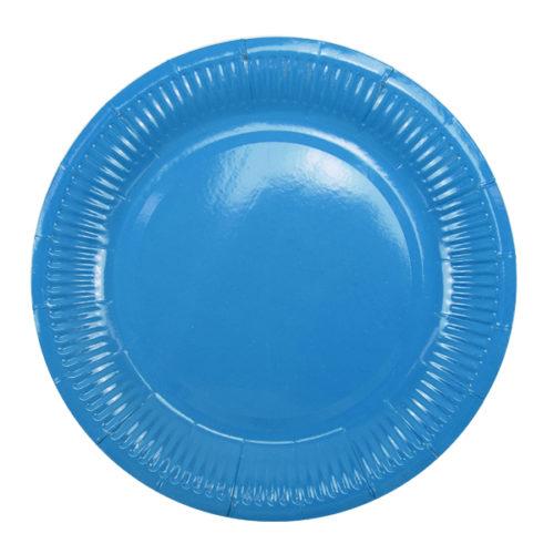 Тарелки 18 см Blue Голубой 6 штук