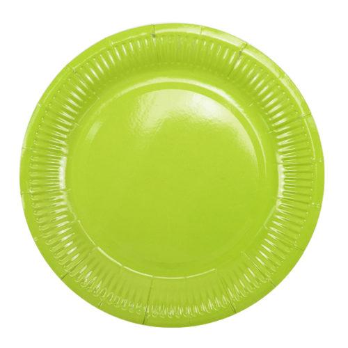 Тарелки 18 см Green Зеленый 6 штук
