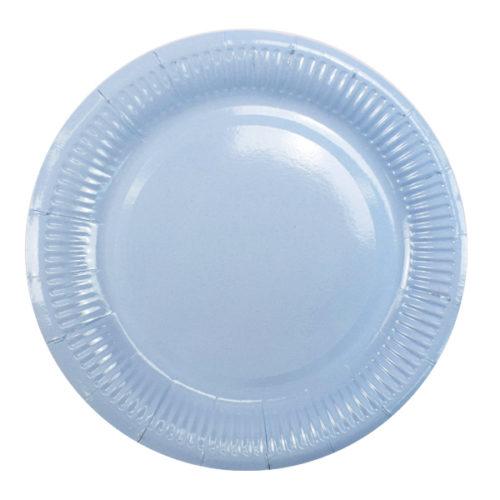 Тарелки 18 см Light Blue Светло-Голубой 6 штук
