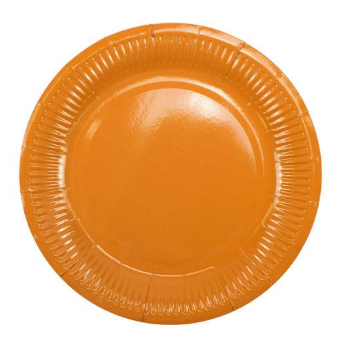 Тарелки 18 см Orange Оранжевый 6 штук
