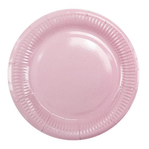 Тарелки 18 см Pink Розовый 6 штук