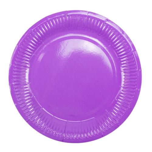 Тарелки 18 см Purple Фиолетовый 6 штук