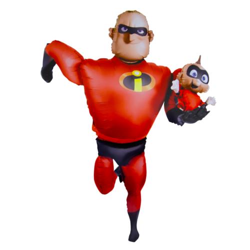Шар 170 см Ходячая Фигура Суперсемейка Мистер Исключительный Красный