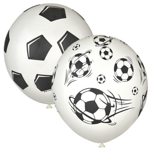 Шар 30 см Футбол Мячи Белый Пастель