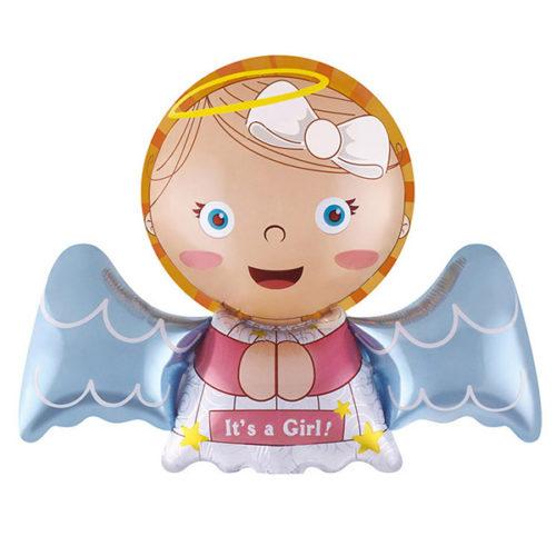Шар 41 см Мини-фигура Ангел для девочки