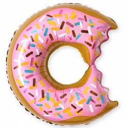 Шар 41 см Мини-фигура Пончик надкусанный