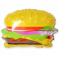 Шар 43 см Мини-фигура Гамбургер