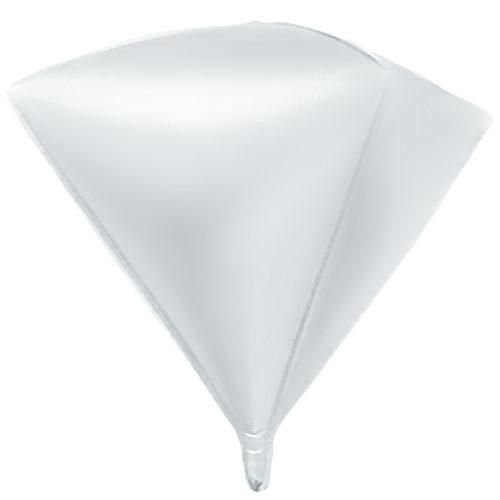 Шар 69 см Алмаз Белый