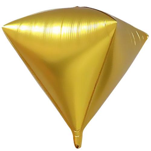 Шар 69 см Алмаз Золото