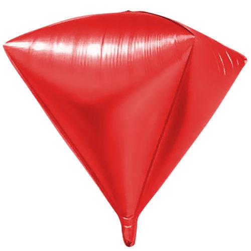 Шар 69 см Алмаз Красный